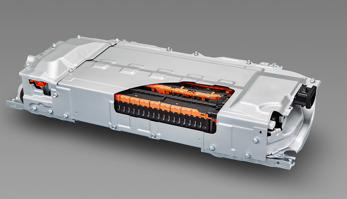Lithium Ion Batteries Such As This Will Go Into Upper Trim Cars The Standard Base Model Have Nickel Metal Hydride